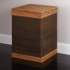 Dirty Laundry Hamper by Bathroom Interesting Wicker Hamper For Exciting Laundry Storage