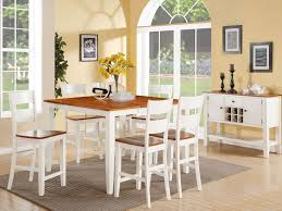 Dining Room - White dining room table set