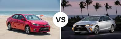 toyota yaris vs corolla comparison 2017 toyota corolla vs 2017 toyota camry