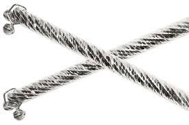 silver dandiya sticks rudraksha ratna