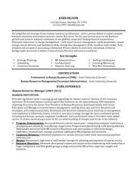 Human Resource Resumes Customer Service Resume 15 Free Samples Skills U0026 Objectives