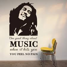 online get cheap music wall mural aliexpress com alibaba group music rock and roll singer home wall sticker removable waterproofing wall decal stickers room mural room