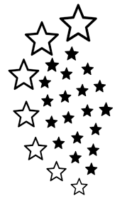 fake tattoos scandinavian temporary tattoos star design clip