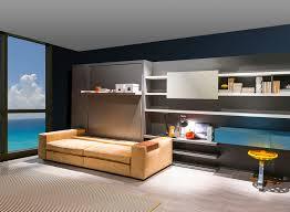 modern murphy bed bedroom