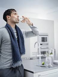grohe blue brings you chilled drinking water straight from the tap