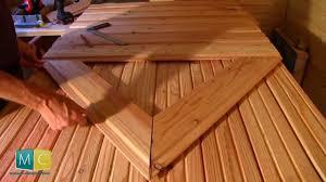 porte interieur en bois massif faire soi même une porte bois ancienne youtube