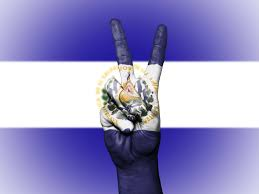Flag El Salvador Background Banner Colors Country Ensign Flag Free Free