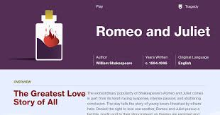 themes of youth in romeo and juliet romeo and juliet study guide course hero