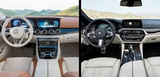 2008 Bmw 550i Interior Head To Head 2017 Mercedes Benz E Class Vs 2017 Bmw 5 Series