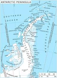 map of antarctic stations antarctic peninsula