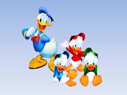 coloring surprising donald duck nephews coloring