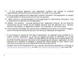 how to avoid possible refusal of your pr application in canada