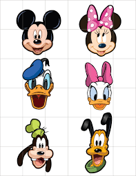 mickey mouse head jack skelleton clipart collection