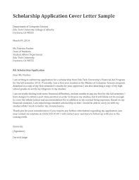 cover letter scholarship application 28 images exles of