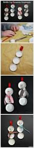 how to make bottle cap snowmen recipe snowman craft and cap