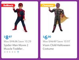 clearance costumes costumes on clearance at walmart