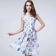 sold out 100 Silk Dress 2017 New Desigual women clothing beach
