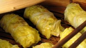 cabbage china steamed pork and cabbage rolls recipe food