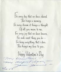 valentines day writing paper to my valentine from mr j c penney smu 1958 front j c penney valentine s day card to his wife