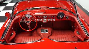 Custom Corvette Interior Sold U2013 1956 Corvette Resto Mod 149 000 00 Full Octane Garage