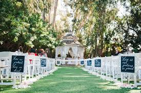 Wedding Ceremony Decoration Ideas Tree Lined Wedding Aisle Tbrb Info