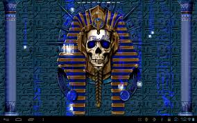 steampunk halloween background undead pharaoh skull free lwp android apps on google play