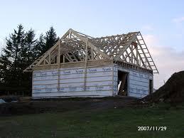 new garage schoolhouse energy retrofit garage roof trusses