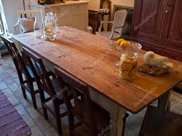 Country Style Dining Room Country Style Classical Vintage Dining Room U2014 Stock Photo