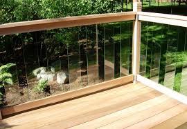 railsimple cedar u0026 glass railing kits clearview series 42