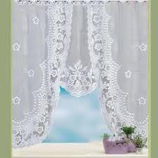rideau voilage cuisine rideau voilage de fenêtre dentelle décoration pour noël de cuisine