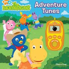 nick jr backyardigans adventure tunes hardcover