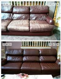 How To Reupholster A Leather Ottoman Excellent 25 Unique Leather Repair Ideas On Pinterest Diy