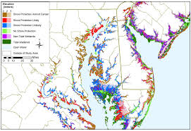 map of maryland to print adapting to global warming