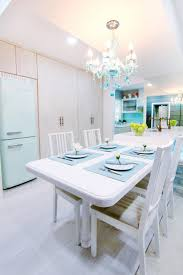 tulip white color of nippon paint room color uses in dining room