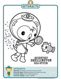 octonaut coloring pages link to printable octonaut coloring pages parties octonauts