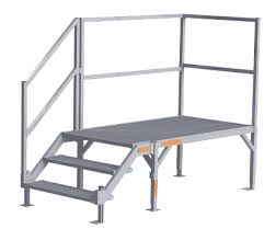 osha stairs portable steps trailer steps building metal stairs