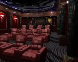 home theater interior awesome small home theatre with cozy yellow seating idea