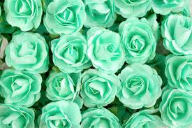 mint green flowers 72 roses mint green paper flowers bouquets 30 mm roses with