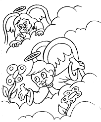 angel coloring pages coloring pages for children