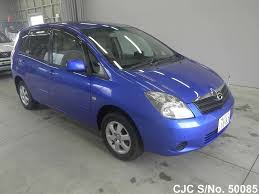 2002 toyota spacio dark blue for sale stock no 50085 japanese