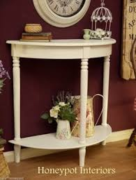 Shabby Chic Hall Table by White And Grey Furniture For Living Room Oxford Grey Console