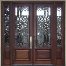 Exterior Entry Doors With Glass Beveled Glass Entry Doors Exterior Beveled Glass Front Doors