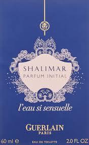 si e de toilette amazon com guerlain shalimar parfum initial l eau si sensuelle eau