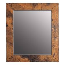 tuscany rectangular copper mirrors 21 5 and 31 inch cpm91