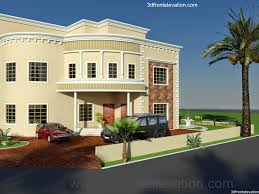 Front Elevation Design by 3d Front Elevation Com Dubai Arabian House 3d Front Elevation Design