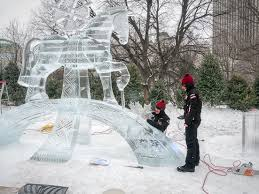 winterlude 2015 update 3 completed ice sculptures