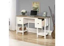 Sauder White Desk by Cottage Road Desk Soft White 418072