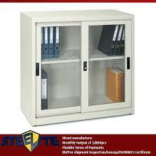 Metal Storage Cabinet With Doors by Metal Storage Cabinet Sliding Doors Diy Sliding Door Garage