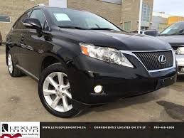lexus pre certified vehicles pre owned black 2010 lexus rx 350 awd touring package review