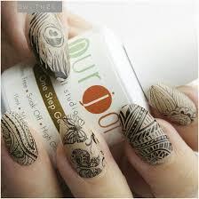 modern stamping with purjoi nail art tutorial